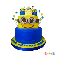 Happy 3rd Minions Birthday Cake